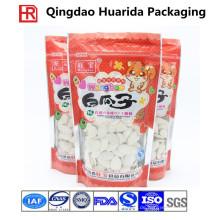 Nahrungsmittelgrad-Plastikverpackungs-Beutel für Snack / Nüsse mit klarem Fenster