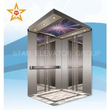 Зеркальное травление Пассажирский лифт из нержавеющей стали