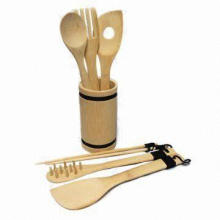 7-piece Set, Includes Slotted Turner, Fork and Spoon