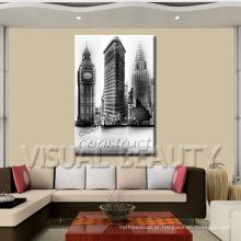 Tome fotos em artes da decoração da parede, Impressão De Canvas Envolvida