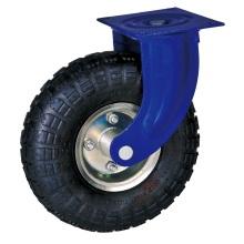 10 '' rodízios pneumáticos industriais com rolamento de esferas