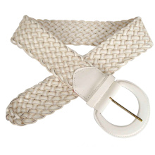 Lady′s Fashion Weave Belt (KY1744)