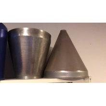 cône en acier de filature en métal personnalisé