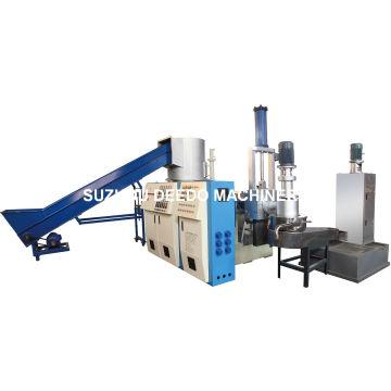 Máquina de granulación para película de PVC de residuos PE PE