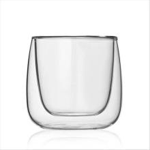 Parede dupla Teaware Coffeeware Mini copo de vidro