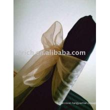Organza sashes, hotel chair sashes
