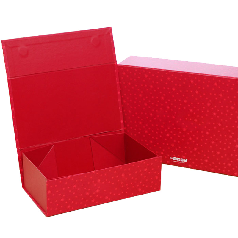 Paperboard Foldable Rigid Packaging Box
