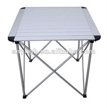 Outdoor portable aluminum table