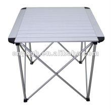 Открытый портативный алюминиевый стол