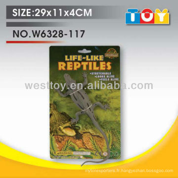 TPR animaux de caoutchouc souple crocodile