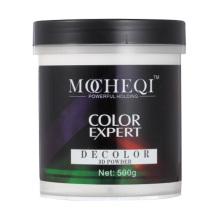 Professional Salon Using Hair Color Powder