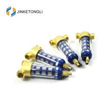 JKTLQZ031 ss316 filtração de malha de água garrafa de água filtro de válvula de desvio