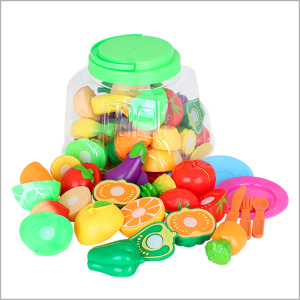 Cute Cutting Fruit Toys for Children Gift