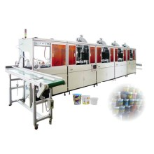 Plastic Bucket Automatic Screen Printing Machine