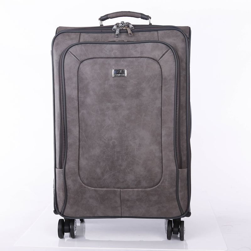 wholesale leather luggage bag