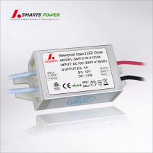220v 12v 24v mini constant voltage led transformer 12w LED driver
