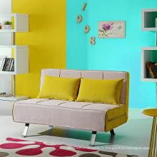 Canapé pliant en tissu moderne pour salon