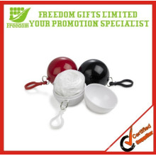Give Away Freedom Gifts Logo Impreso Golf Safe Lluvia desechable Poncho Ball