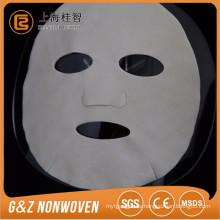 hoja de máscara facial no tejida hoja de máscara facial blanca hotsale