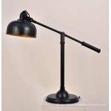 Schwarze Eisen-Tischlampe (TT1304-1ABG)