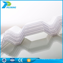 Bons panneaux de toiture en plastique ondulé anticorrosif panneau de fournisseur en porcelaine pour la toiture