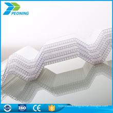 Good anticorrosive corrugated plastic roofing panels china supplier sheet for roofing sheet
