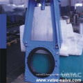 Pneumatic Slurry Ggg40 Iron Knife Gate Valve Handwheel
