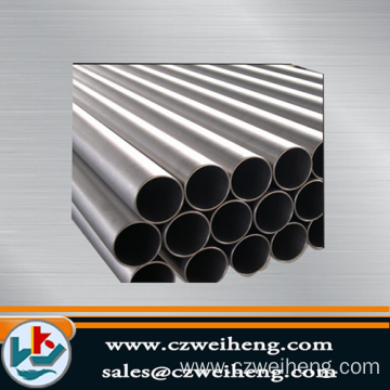 ERW steel pipe/schedule 40 black hollow section