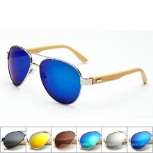 FQ marca al por mayor prueba artesanal buenas gafas de sol de madera hechos a mano únicos
