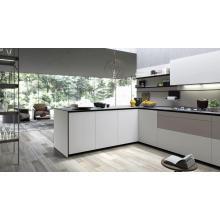 Gabinete de cocina de laca blanca para usted
