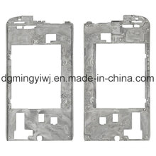 Fábrica china de magnesio fundido para carcasas de teléfono (MG1231) con mecanizado CNC que aprobó ISO9001-2008