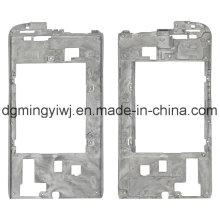 Usine chinoise Moulage au magnésium pour boîtiers de téléphone (MG1231) avec usinage CNC approuvé ISO9001-2008
