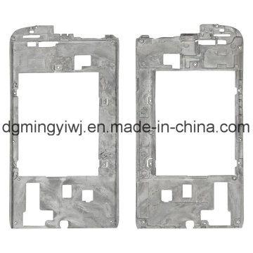 Chinese Factory Magnesium Die Casting for Phone Housings (MG1231) with CNC Machining Which Approved ISO9001-2008
