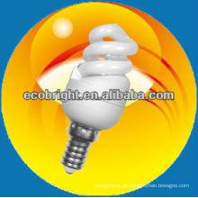 energiesparende Lampe Super Mini Vollspirale 7mm 8000H CE Qualität