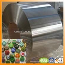 EN10202 premier finition brillante 2.8/5,6 M. pour le métal peut prix de fer-blanc de production