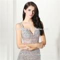 Белый сплит прозрачный леди макси аппликация производитель мател кушак спинки Cap рукавом вечернее платье женская одежда