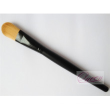 Synthetic Hair Metal Hand Foundation Brush
