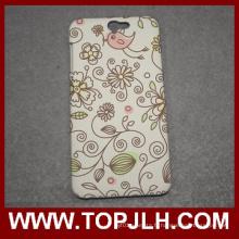 Personnalisé impression Sublimation 3D blanc Mobile Phone Case pour HTC un A9