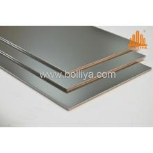 Anodized Aluminum Interior/Metal/Aluminum Curtain Panels Mt-2810 White Silver