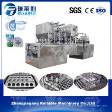 Ligne de production d'eau de tasse en plastique / machine de remplissage