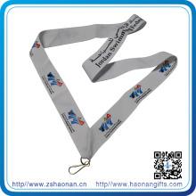 Décoration de haute qualité de ruban de médaille de médailles de médailles de polyester pour des sports