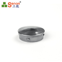 Christmas offer 2020 Stainless steel tube cap hot -sale handrail tube closure high quality