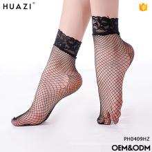 Mulheres de moda de alta qualidade nylon / meias de algodão