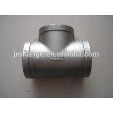 Casting Stainless Steel Threaded Tee