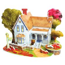 Quebra-cabeça 3D casa cheia
