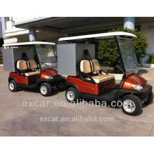 Chinesischer preiswerter 2 Sitzer elektrischer Golfwagen-Golfbuggy mit Fracht