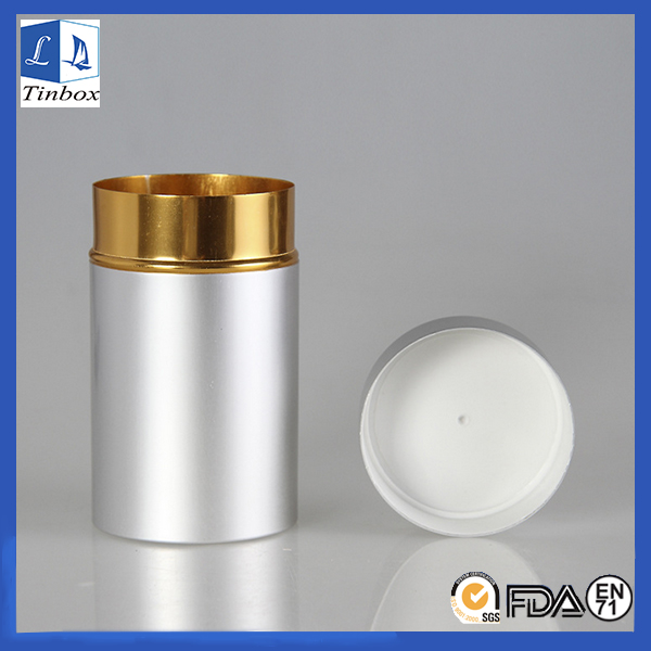 Round Small Aluminum Storage Box