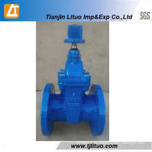 Válvula de compuerta de compuerta de vástago antideslizante con asiento de caucho Tianjin
