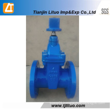 Tianjin Rubber Seated Non-Rising Stem Sluice Gate Valve
