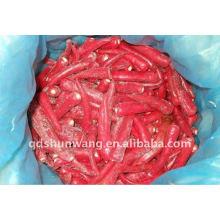 Gefrorene rote Chili
